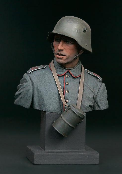 Фигурки: Германский пехотинец, 1916, фото #3