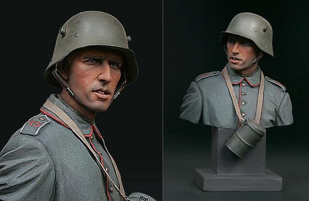 Фигурки: Германский пехотинец, 1916