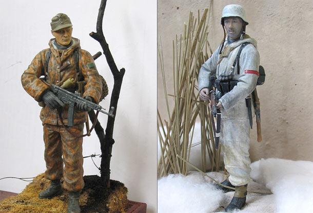 Фигурки: Солдаты Вермахта
