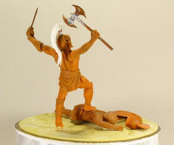 Скульптура: Воин, фото #2