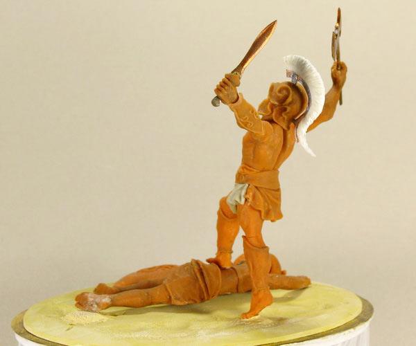 Скульптура: Воин, фото #3