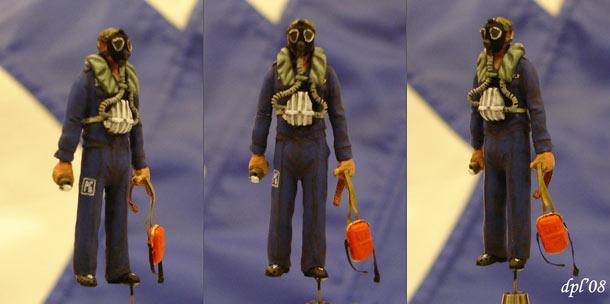 Скульптура: Подводник, АПЛ К-152