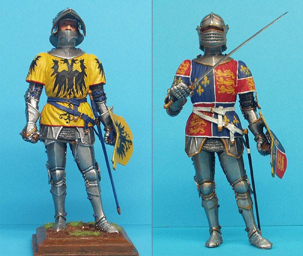 Фигурки: Средневековые рыцари