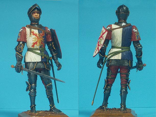 Фигурки: Бургундский рыцарь