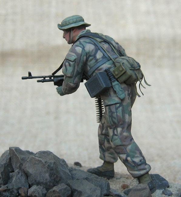 Фигурки: Боец спецподразделения ВМФ США , фото #2