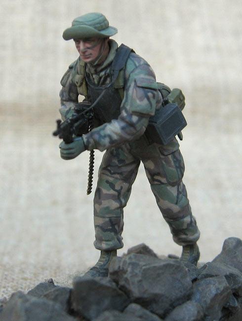 Фигурки: Боец спецподразделения ВМФ США , фото #4