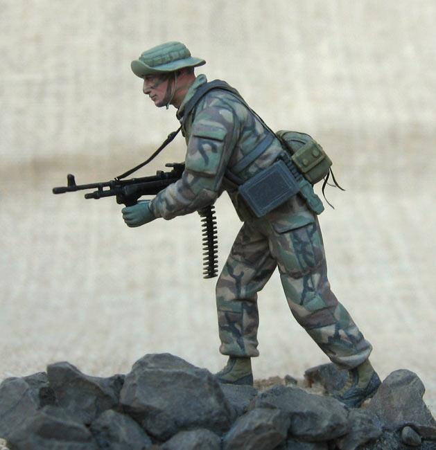 Фигурки: Боец спецподразделения ВМФ США , фото #5