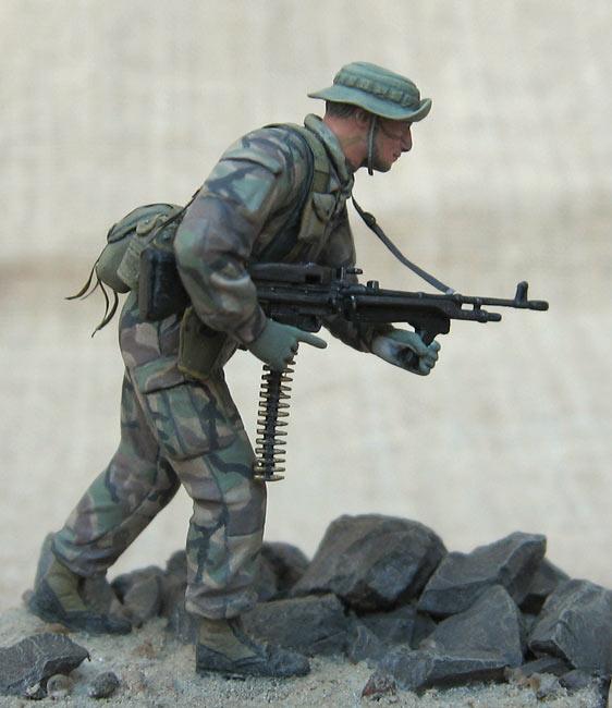 Фигурки: Боец спецподразделения ВМФ США , фото #8
