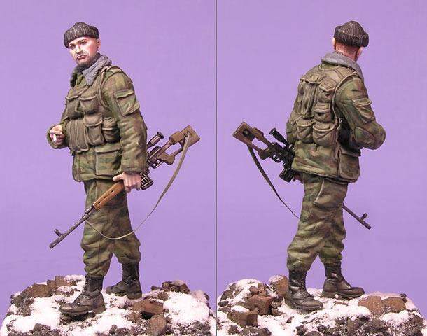 Чечня девушка снайпер