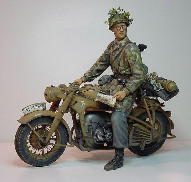 Фигурки: Немецкий десантник