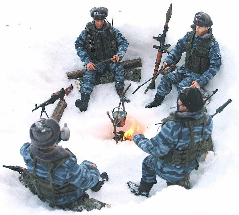 Разное: Питерский ОМОН в Чечне, Старые Атаги, 2002 , фото #10