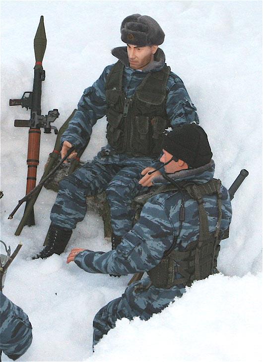 Разное: Питерский ОМОН в Чечне, Старые Атаги, 2002 , фото #4
