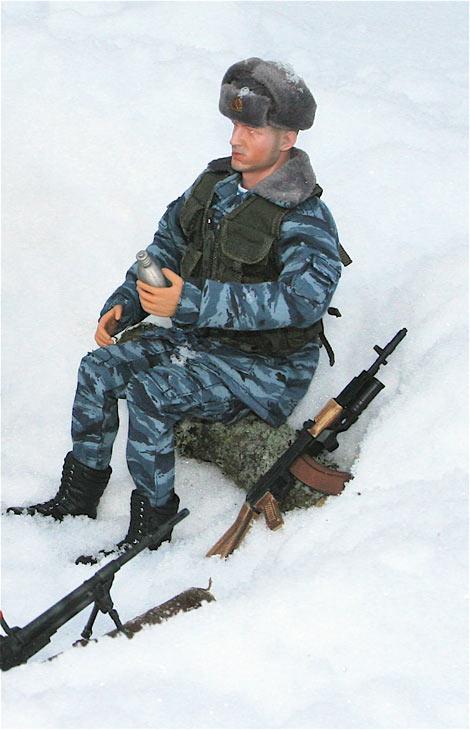 Разное: Питерский ОМОН в Чечне, Старые Атаги, 2002 , фото #5