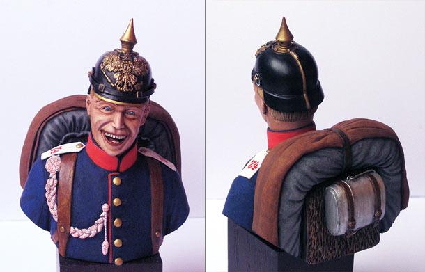 Фигурки: Пехотинец 74-го прусского полка