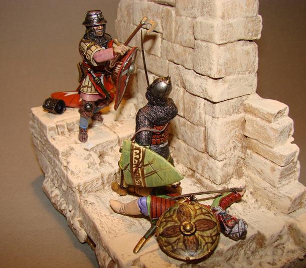 Диорамы и виньетки: Акра. Третий крестовый поход.