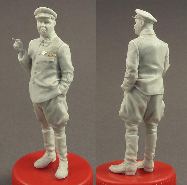 Скульптура: Генерал РККА, 1940-43