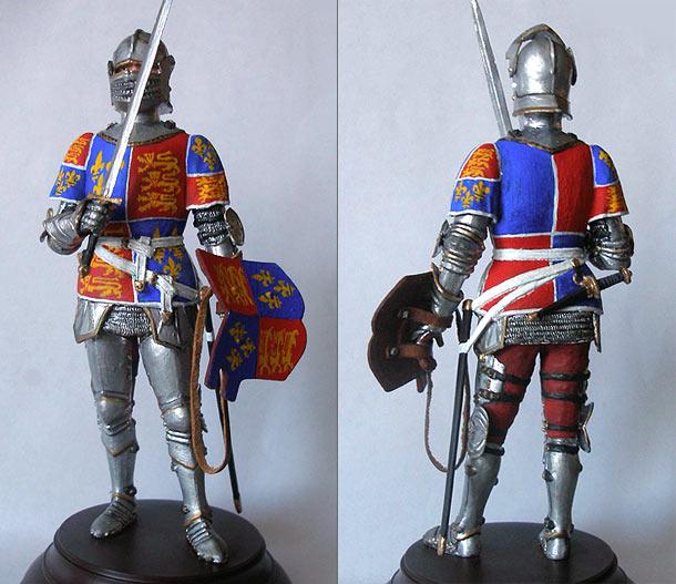 Фигурки: Европейский рыцарь