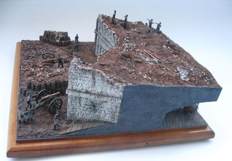 Диорамы и виньетки: Оборонительная башня Малахова кургана. Крымская война, фото #4