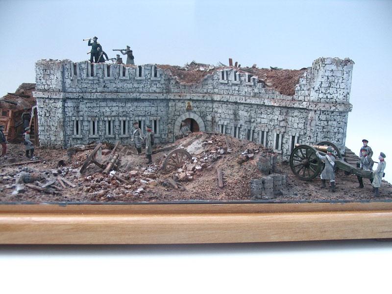 Диорамы и виньетки: Оборонительная башня Малахова кургана. Крымская война, фото #7