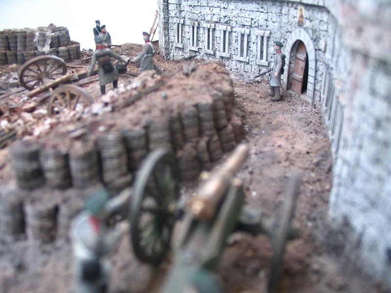 Диорамы и виньетки: Оборонительная башня Малахова кургана. Крымская война, фото #8