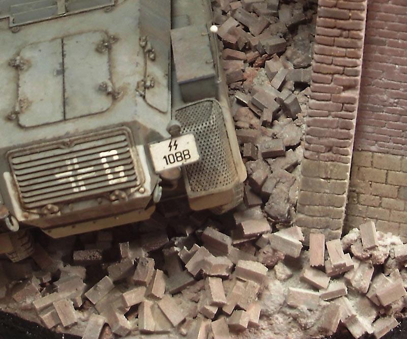 Диорамы и виньетки: Город руин, фото #9