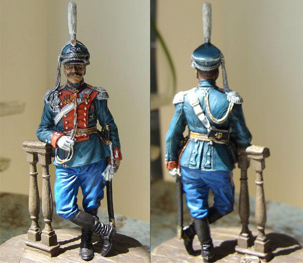 Фигурки: Полковник Лейб-гвардии Драгунского полка, Россия, 1910-14