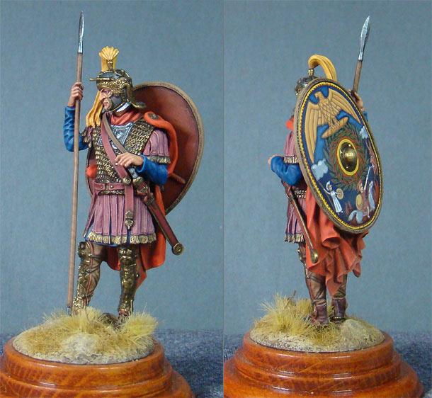 Фигурки: Римский кавалерист, II век н.э.