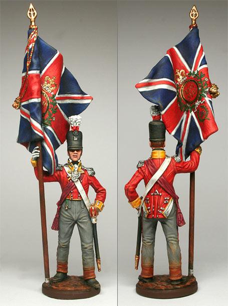 Фигурки: Офицер 92-го шотландского полка.1809-15 гг.
