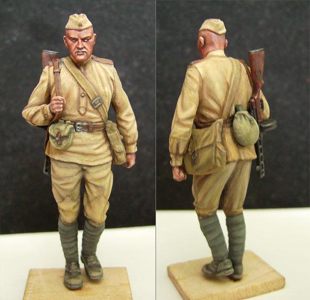 Фигурки: Советский пехотинец