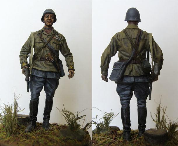 Фигурки: Офицер берсальеров батальона