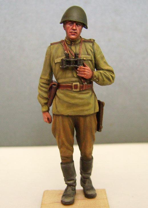 Фигурки: Офицер Красной Армии, лето 1943 г., фото #1