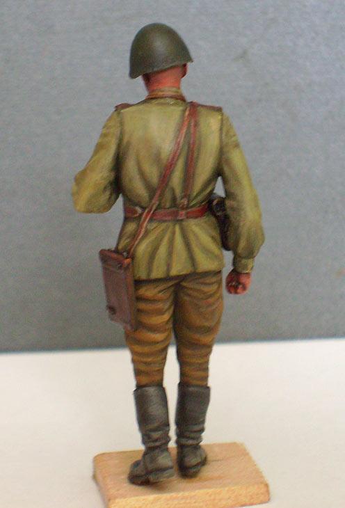 Фигурки: Офицер Красной Армии, лето 1943 г., фото #4