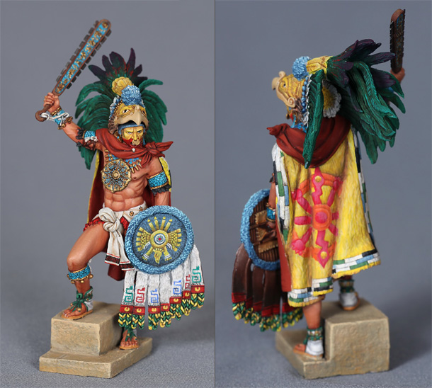 Фигурки: Император ацтеков Монтесума