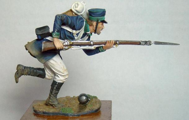 Фигурки: Прусский пехотинец, 1815г.