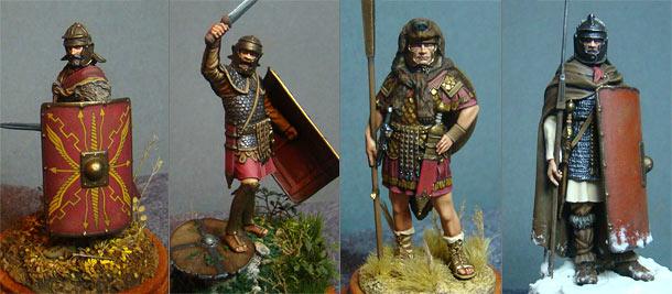Фигурки: Римские воины