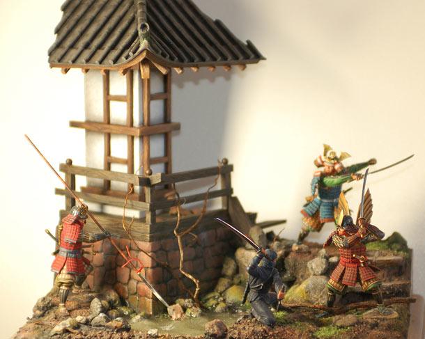 Диорамы и виньетки: Средневековая Япония