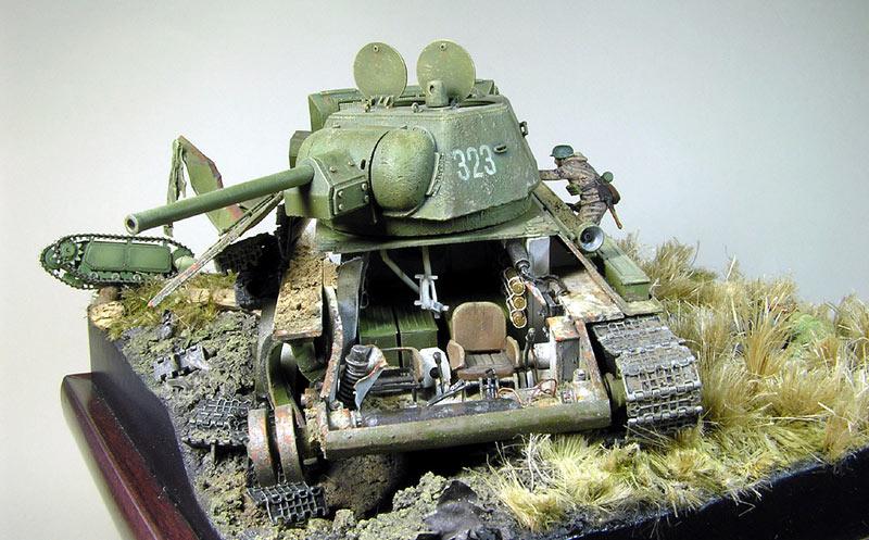 Диорамы и виньетки: Охотники за танками, фото #1