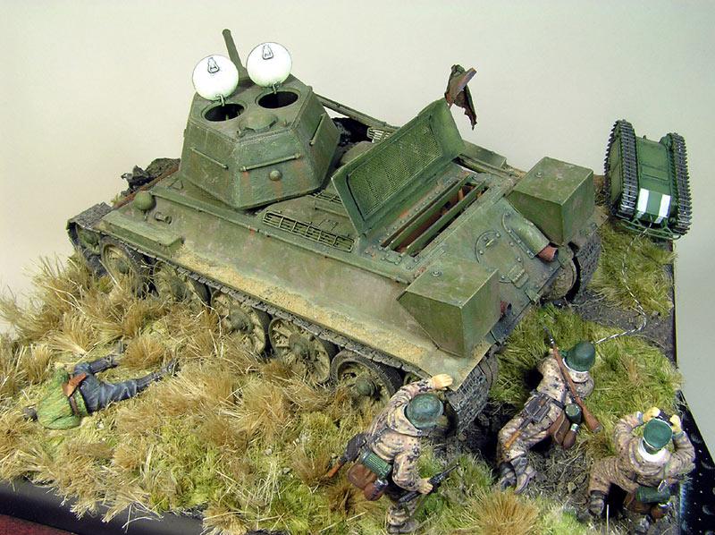 Диорамы и виньетки: Охотники за танками, фото #10