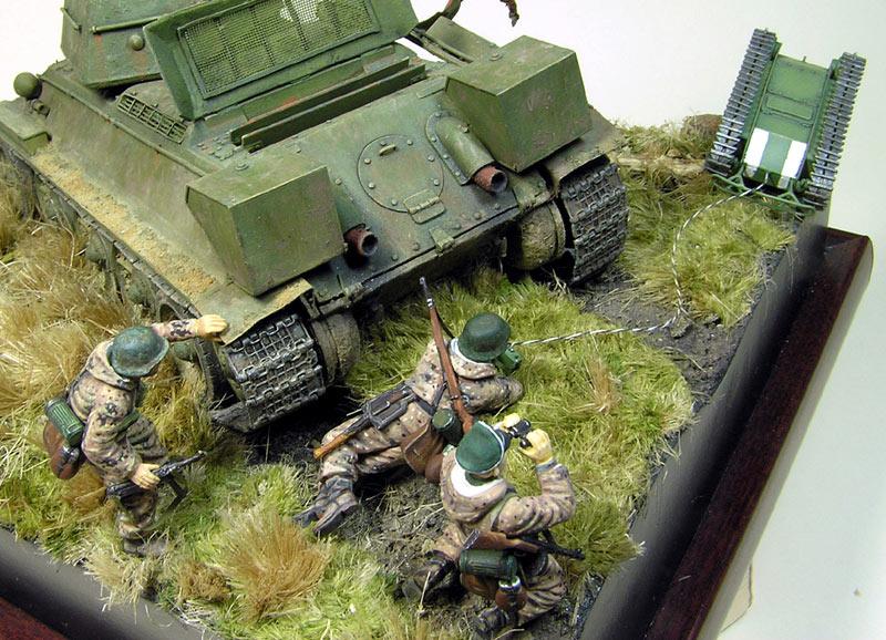 Диорамы и виньетки: Охотники за танками, фото #11