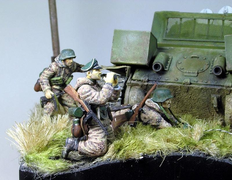 Диорамы и виньетки: Охотники за танками, фото #12