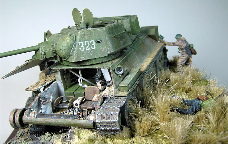 Диорамы и виньетки: Охотники за танками, фото #2