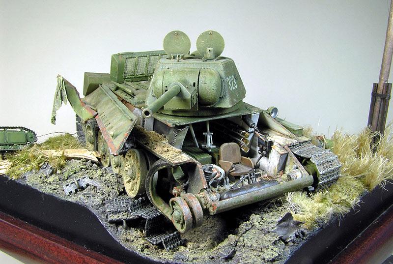Диорамы и виньетки: Охотники за танками, фото #4