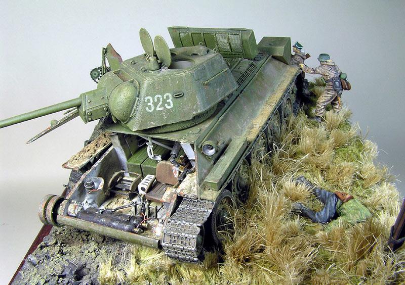 Диорамы и виньетки: Охотники за танками, фото #5