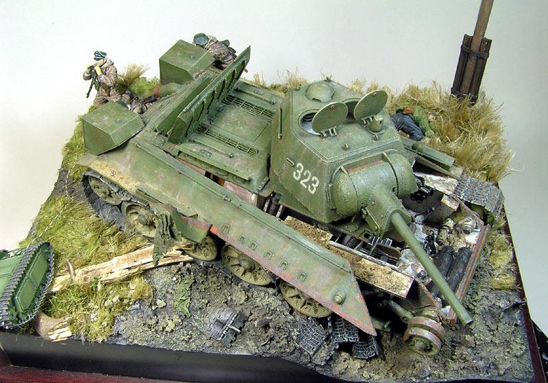 Диорамы и виньетки: Охотники за танками, фото #6