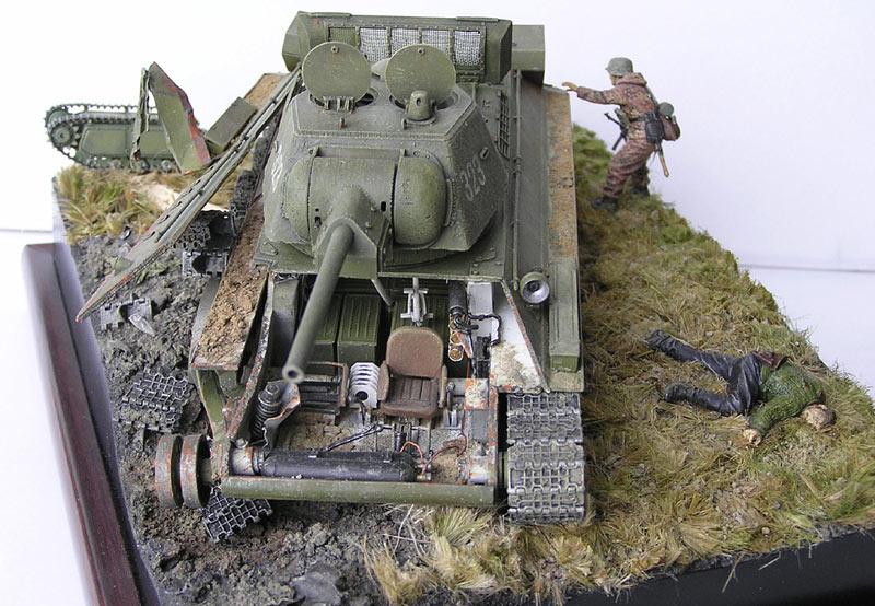 Диорамы и виньетки: Охотники за танками, фото #7