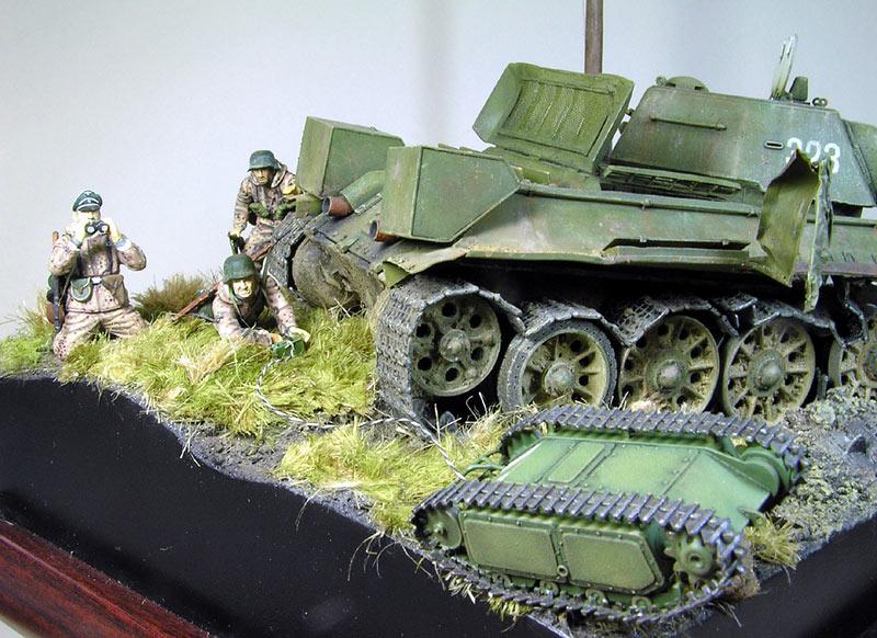 Диорамы и виньетки: Охотники за танками, фото #8