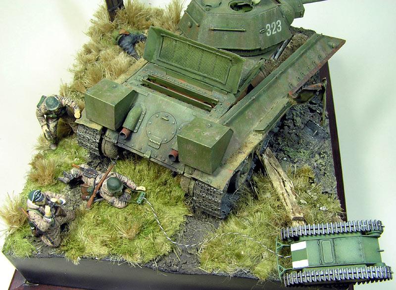 Диорамы и виньетки: Охотники за танками, фото #9