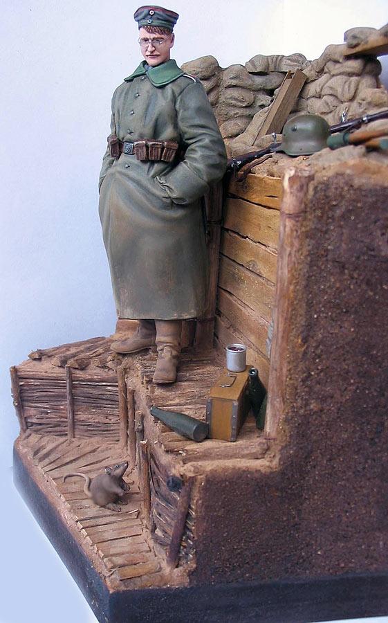Диорамы и виньетки: На Западном фронте без перемен. Новобранец, фото #7