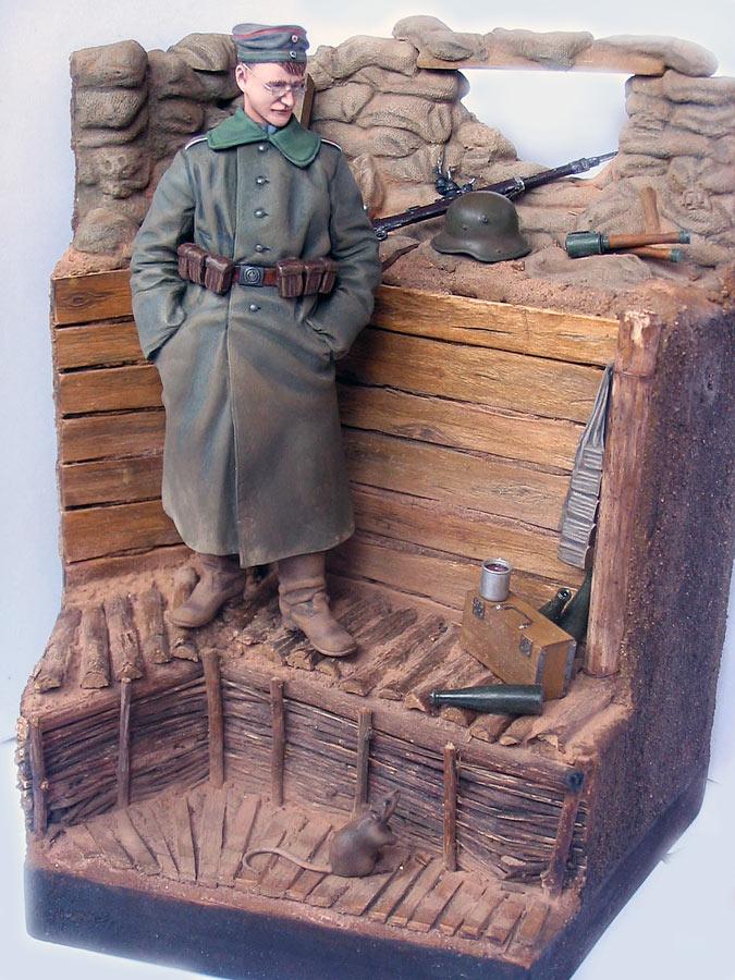 Диорамы и виньетки: На Западном фронте без перемен. Новобранец, фото #8