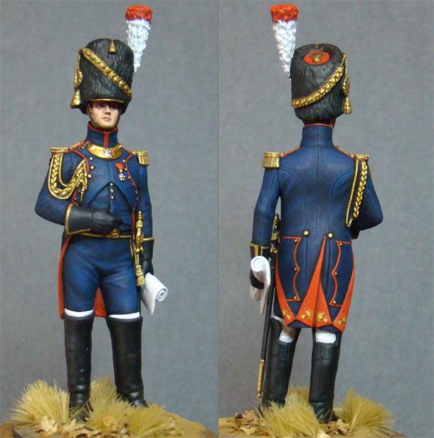 Фигурки: Офицер полка пешей артиллерии Старой Гвардии